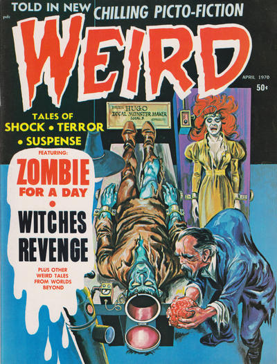 Cover for Weird (Eerie Publications, 1966 series) #v4#2