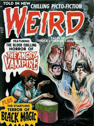 Cover for Weird (Eerie Publications, 1966 series) #v4#6