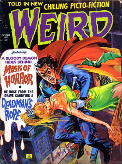 Cover for Weird (Eerie Publications, 1966 series) #v6#6