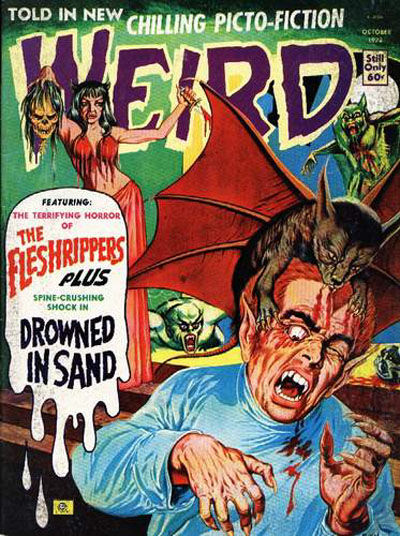 Cover for Weird (Eerie Publications, 1966 series) #v7#6