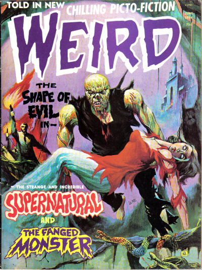 Cover for Weird (Eerie Publications, 1966 series) #v8#3