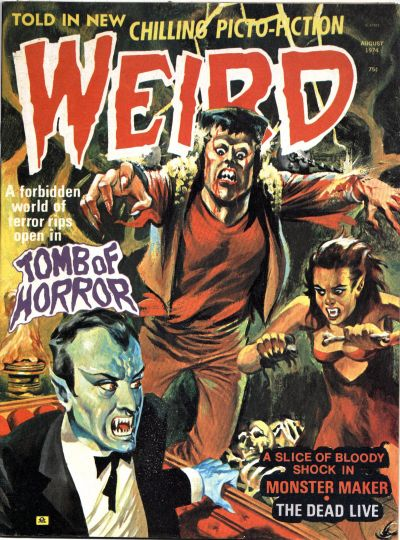 Cover for Weird (Eerie Publications, 1966 series) #v8#4