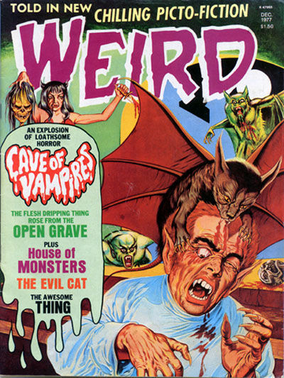 Cover for Weird (Eerie Publications, 1966 series) #v10#3