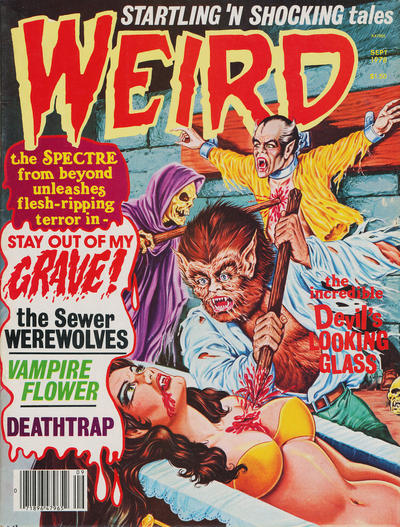 Cover for Weird (Eerie Publications, 1966 series) #v11#3