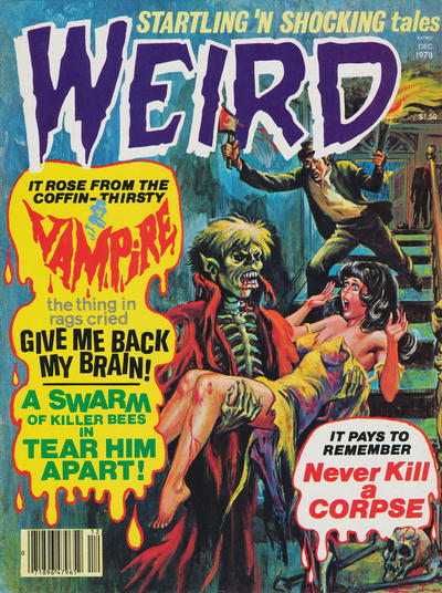 Cover for Weird (Eerie Publications, 1966 series) #v11#4