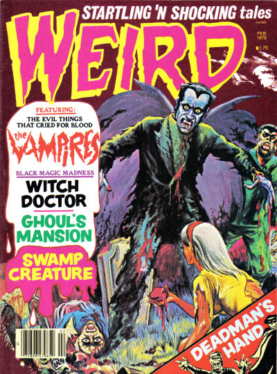Cover for Weird (Eerie Publications, 1966 series) #v12#1