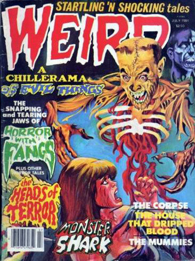 Cover for Weird (Eerie Publications, 1966 series) #v14#2