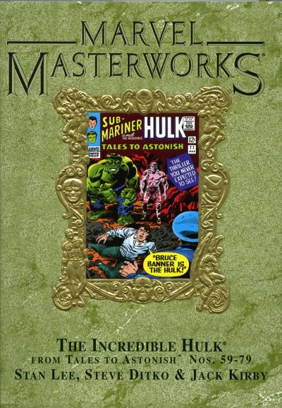 Cover for Marvel Masterworks: The Incredible Hulk (Marvel, 2003 series) #2 (39) [Limited Variant Edition]