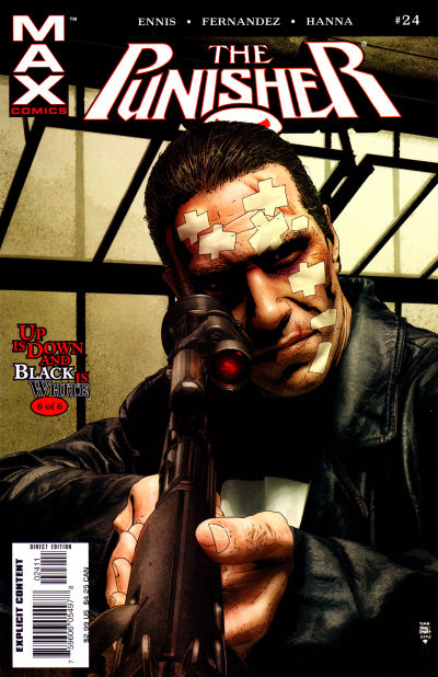 Cover for Punisher (Marvel, 2004 series) #24