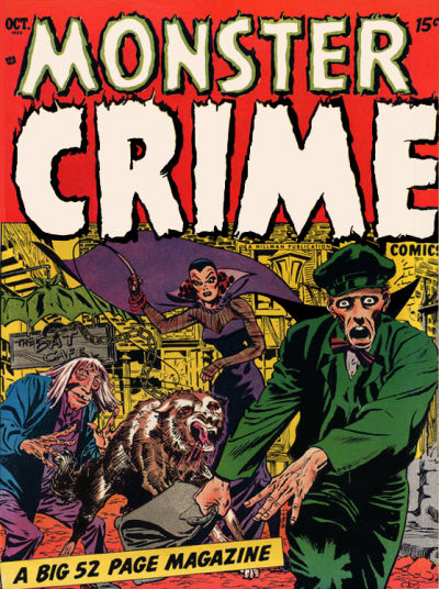 Cover for Monster Crime Comics (Hillman, 1952 series) #v1#1