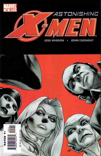 Cover for Astonishing X-Men (Marvel, 2004 series) #15