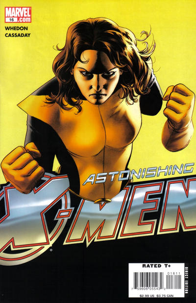 Cover for Astonishing X-Men (Marvel, 2004 series) #16 [Direct Edition]
