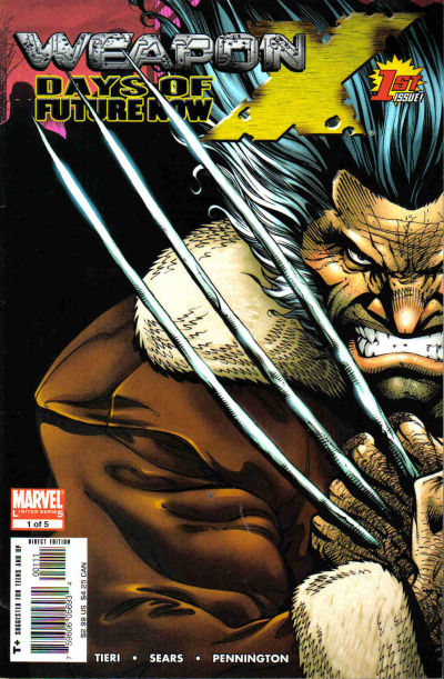 Cover for Weapon X: Days of Future Now (Marvel, 2005 series) #1