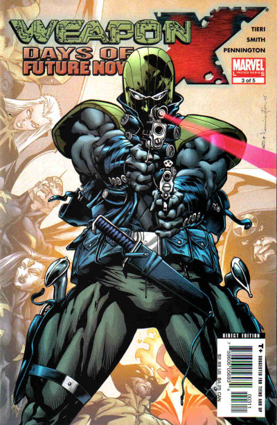 Cover for Weapon X: Days of Future Now (Marvel, 2005 series) #3