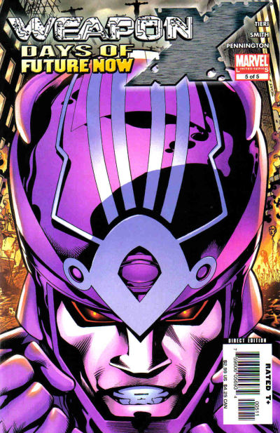 Cover for Weapon X: Days of Future Now (Marvel, 2005 series) #5
