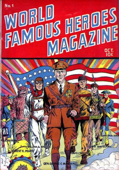 Cover for World Famous Heroes Magazine (Centaur, 1941 series) #1