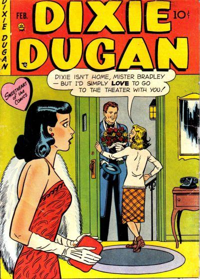 Cover for Dixie Dugan (Prize, 1951 series) #v3#1