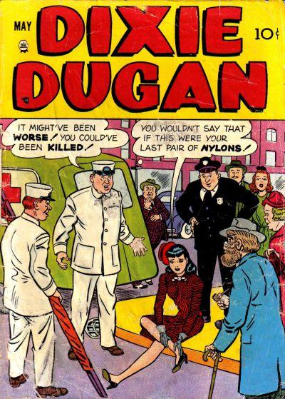 Cover for Dixie Dugan (Prize, 1951 series) #v3#2