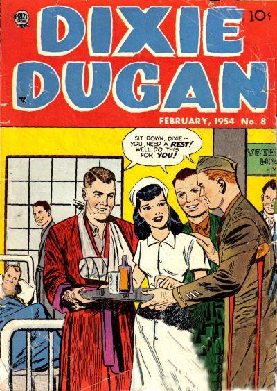Cover for Dixie Dugan (Prize, 1951 series) #v4#4 (8)