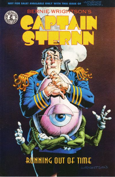 Cover for Captain Sternn: Running Out of Time, Advance Comics (Kitchen Sink Press, 1993 series) #[nn]