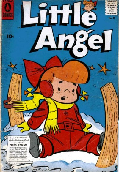 Cover for Little Angel (Pines, 1954 series) #11