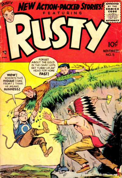 Cover for Rusty (Good Comics Inc. [1950s], 1955 series) #5