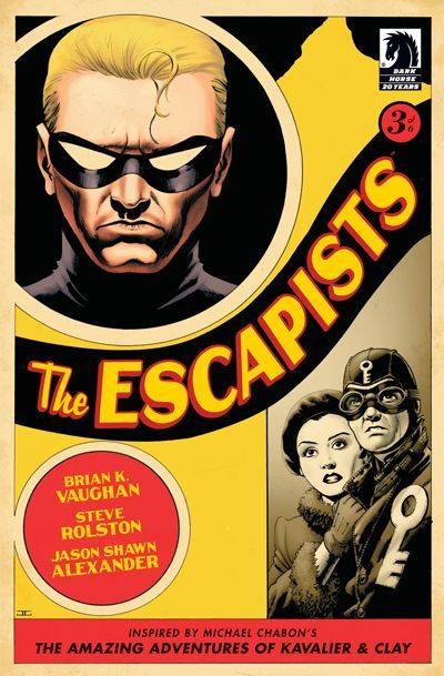 Cover for The Escapists (Dark Horse, 2006 series) #3