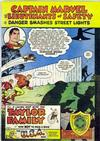 Cover for Captain Marvel and the Lieutenants of Safety (Fawcett, 1950 series) #[3]