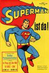 Cover for Superman (Egmont Ehapa, 1966 series) #1/1966