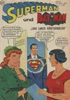 Cover for Superman (Egmont Ehapa, 1966 series) #4/1967