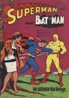 Cover for Superman (Egmont Ehapa, 1966 series) #8/1968