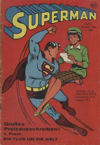 Cover Thumbnail for Superman (Egmont Ehapa, 1966 series) #2/1966