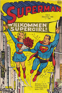 Cover Thumbnail for Superman (Egmont Ehapa, 1966 series) #4/1966