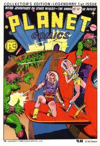 Cover Thumbnail for Planet Comics (Pacific Comics, 1984 series) #1