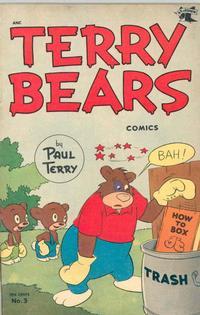 Cover Thumbnail for Terry Bears Comics (St. John, 1952 series) #3