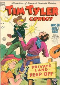 Cover Thumbnail for Tim Tyler (Pines, 1948 series) #18