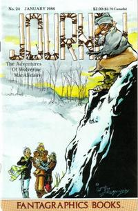 Cover Thumbnail for Journey (Fantagraphics, 1985 series) #24