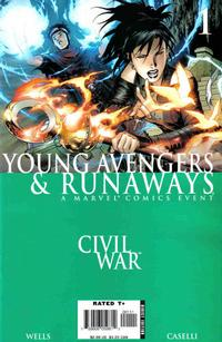 Cover Thumbnail for Civil War: Young Avengers & Runaways (Marvel, 2006 series) #1