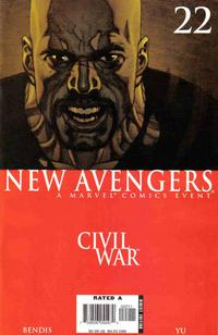 Cover Thumbnail for New Avengers (Marvel, 2005 series) #22 [Direct Edition]