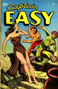 Cover for Captain Easy (Pines, 1947 series) #11