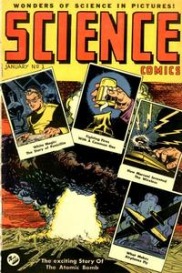 Cover Thumbnail for Science Comics (Ace Magazines, 1946 series) #1