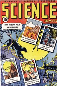 Cover Thumbnail for Science Comics (Ace Magazines, 1946 series) #2