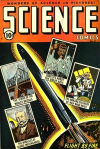 Cover Thumbnail for Science Comics (Ace Magazines, 1946 series) #5