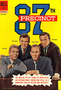 Cover Thumbnail for 87th Precinct (Dell, 1962 series) #2