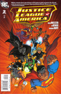 Cover Thumbnail for Justice League of America (DC, 2006 series) #2 [Standard Cover]