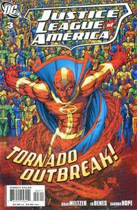 Cover Thumbnail for Justice League of America (DC, 2006 series) #3 [Standard Direct Sales Cover Variant]