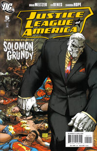 Cover Thumbnail for Justice League of America (DC, 2006 series) #5 [Michael Turner Cover]