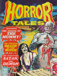 Cover Thumbnail for Horror Tales (Eerie Publications, 1969 series) #v3#1