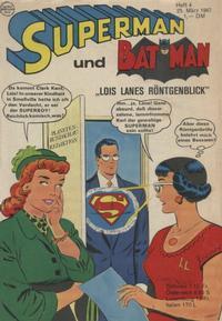 Cover Thumbnail for Superman (Egmont Ehapa, 1966 series) #4/1967