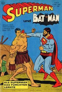 Cover Thumbnail for Superman (Egmont Ehapa, 1966 series) #9/1967